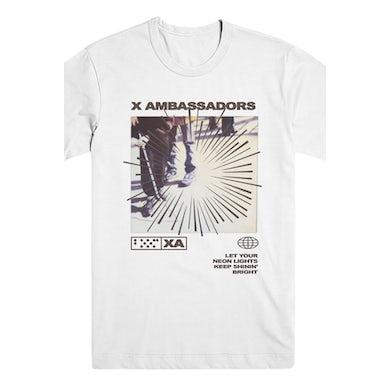 X Ambassadors Keep Shinin Bright Tee (White)