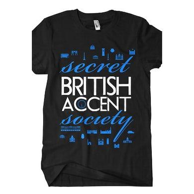 BryanStars Secret British Accent Society Tee (Black)