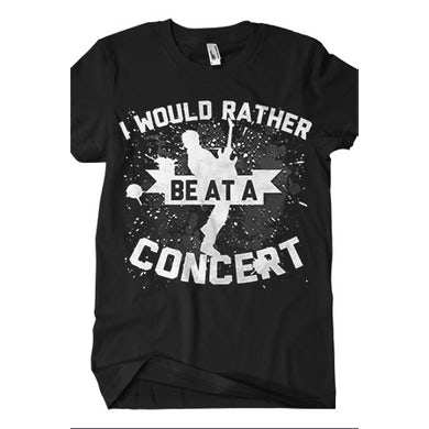 BryanStars Rather Be At A Concert Tee (Black)