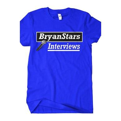 BryanStars Interviews Tee (Blue)