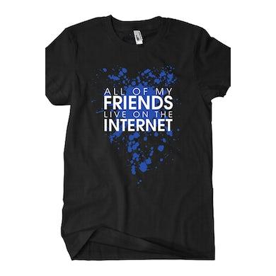 BryanStars All of My Friends Tee (Black)