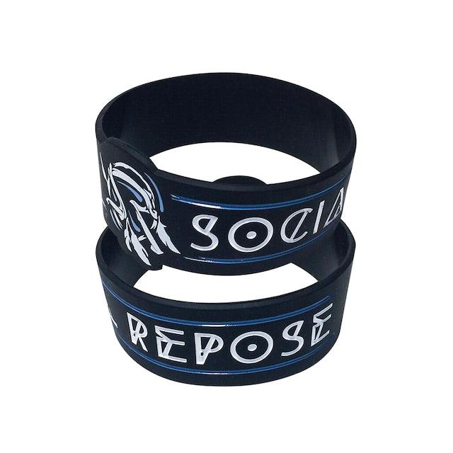 Social Repose Feather Wristband
