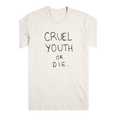 Cruel Youth Or Die Tee (Cream)