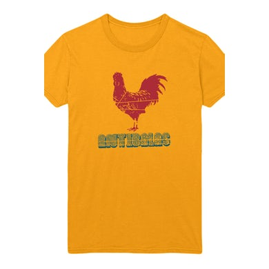 Womens Rooster Tee (Gold)