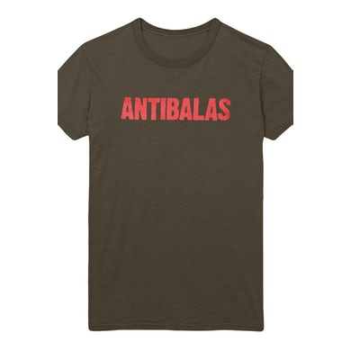 Antibalas Womens Security Logo Tee (Army)