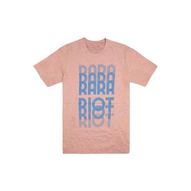 Ra Ra Riot  Fade Tee (Salmon)