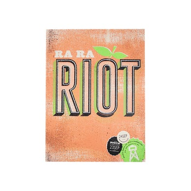 Ra Ra Riot  Peach Poster
