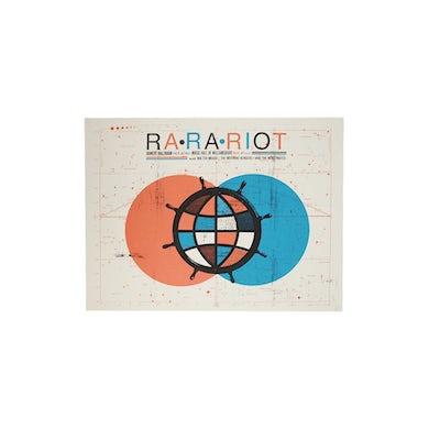 Ra Ra Riot  Ven Diagram Ship Wheel Poster