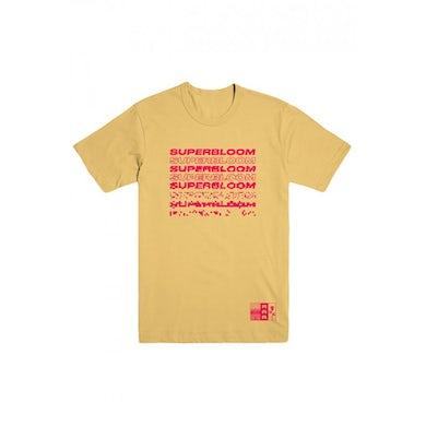 Ra Ra Riot  Superbloom Tee (Yellow)