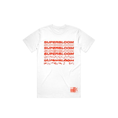 Ra Ra Riot  Superbloom in Red Tee (White)