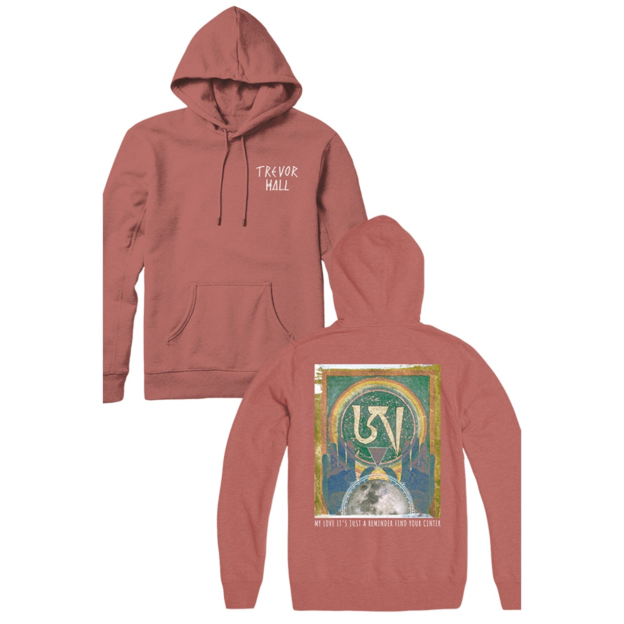 free shipping 71e64 86453 Trevor Hall Reminder Pullover Hoodie (Mauve)
