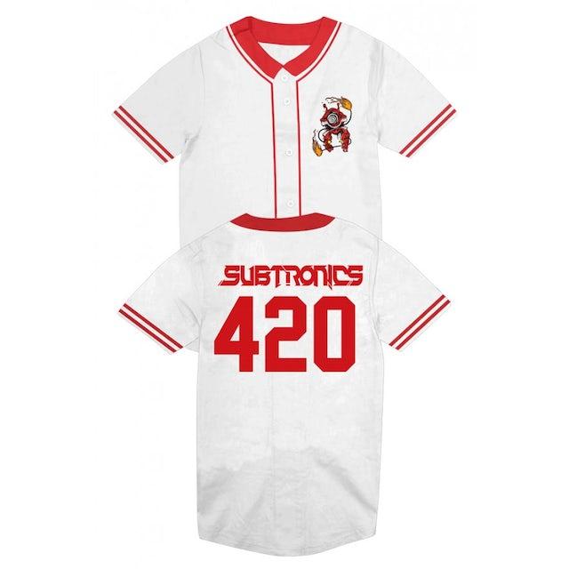 Subtronics Poi Cyclops Baseball Jersey