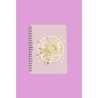 Walk The Moon Desert Flower Notebook