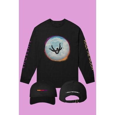 Walk The Moon Timebomb Longsleeve + Hat Bundle