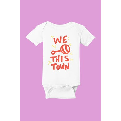 Walk The Moon Rattle This Town Onesie