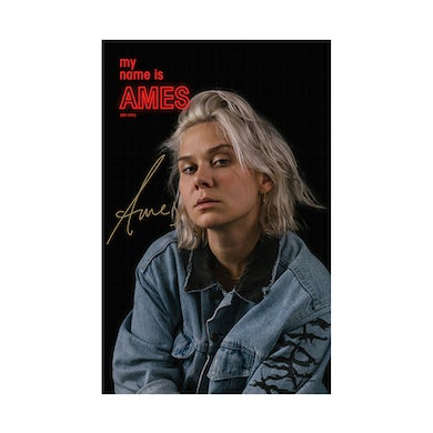 Ames Poster (Signed)