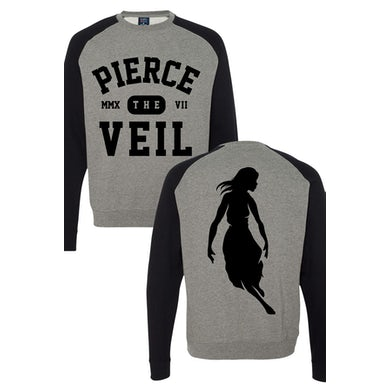Pierce The Veil Two Toned Pullover (Black/Grey)