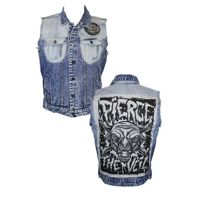 Pierce The Veil Sleeveless Denim Vest