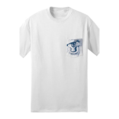 Bob Moses First To Cry Pocket Tee (White)