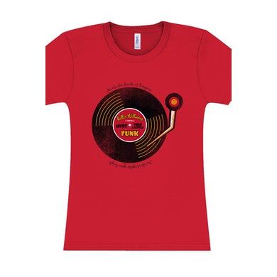 Keller Williams Funk More Than A Little Ladies Tee (Red)