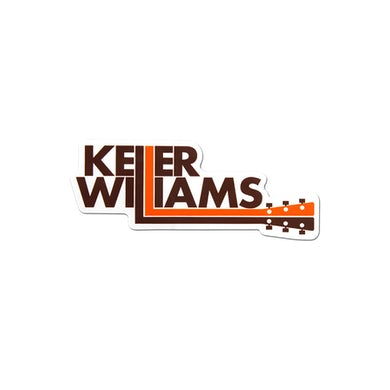 Keller Williams Guitar Neck Sticker