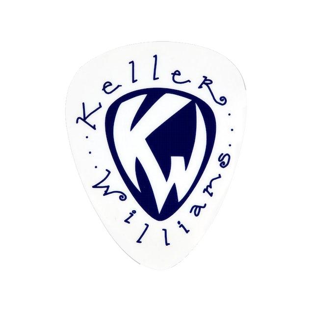 Keller Williams Guitar Pick Static Sticker