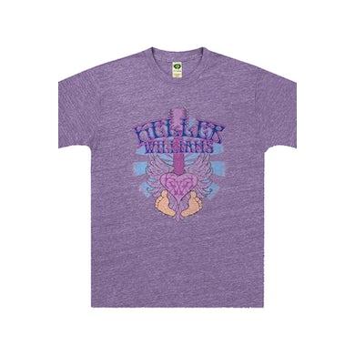 Keller Williams Purple Toes Tee (Heather Purple)