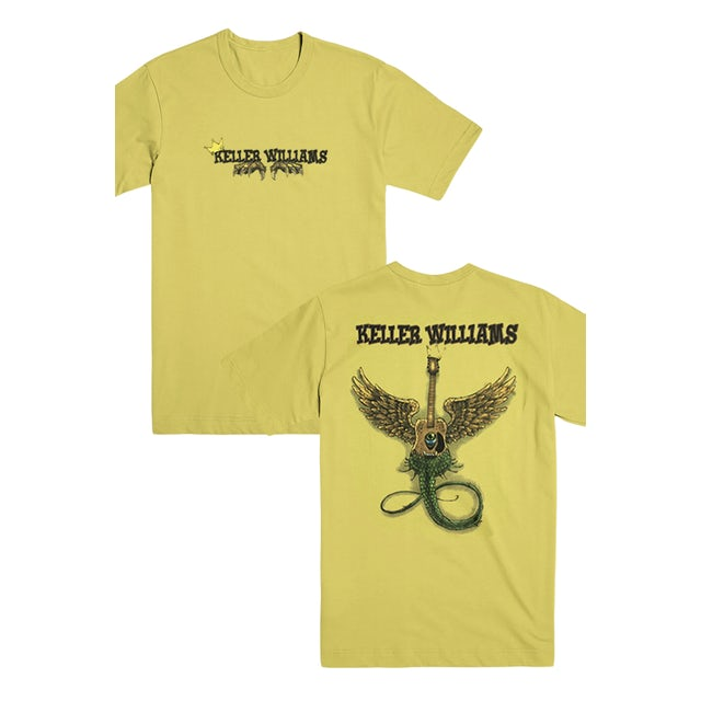 Keller Williams The Wild Things Tee (Gold)