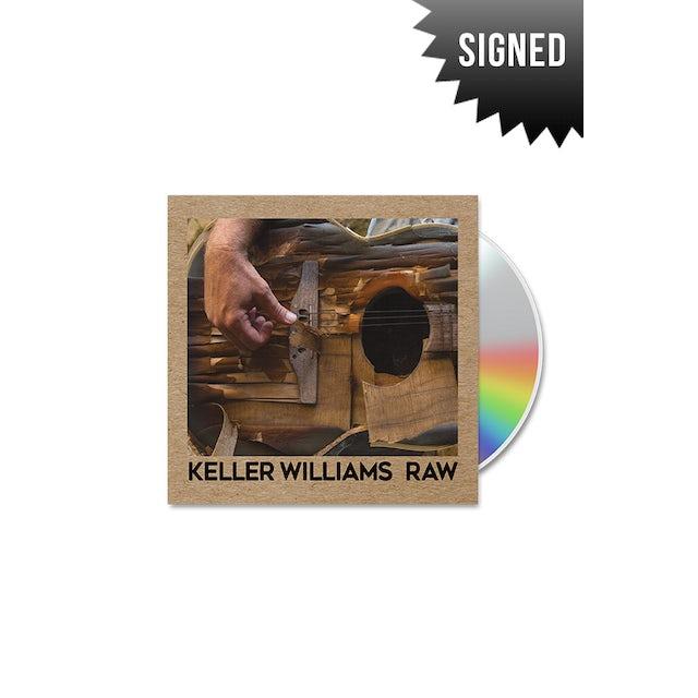 Keller Williams Signed Raw CD