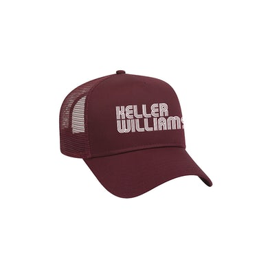 Keller Williams Logo Trucker Hat (Maroon)