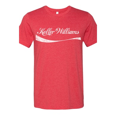 Keller Williams Soda Tee (Heather Red)