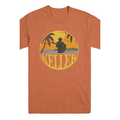 Keller Williams Sunset Tee (Orange)