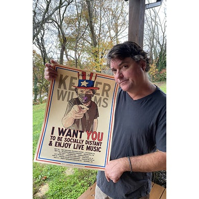Keller Williams I Want You 16 x 22 Poster Signed by Keller
