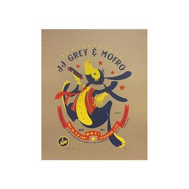 JJ Grey & Mofro NYE 2010 Poster