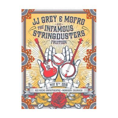 JJ Grey & Mofro Red Rocks 2016 Poster