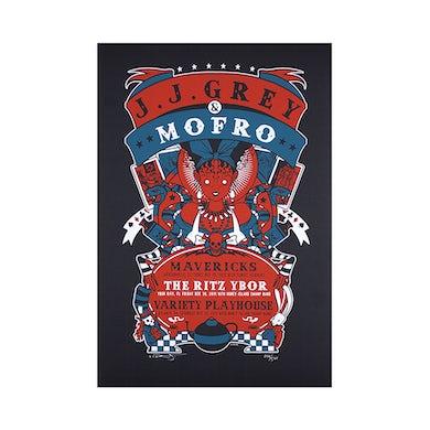 JJ Grey & Mofro NYE 2011 Poster