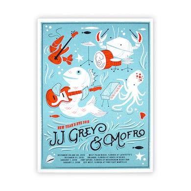 JJ Grey & Mofro NYE 2015 Poster