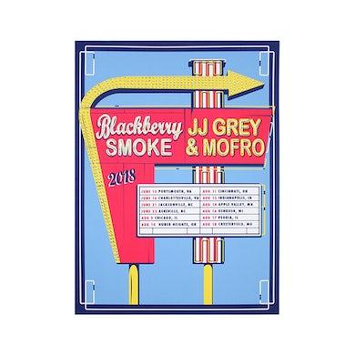 JJ Grey & Mofro Blackberry Smoke Poster