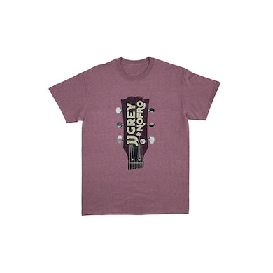 JJ Grey & Mofro Guitar Head Tee (Maroon Triblend)
