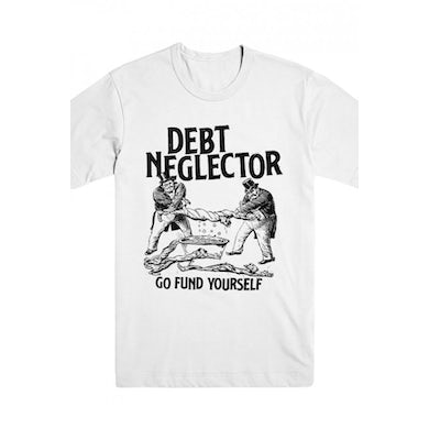 Debt Neglector Wrung Out Tee (White)