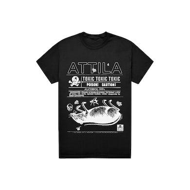 Attila Toxic Tee (Black)