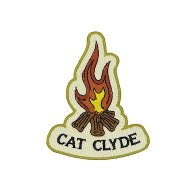 Cat Clyde Campfire Patch