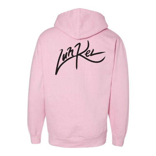 Luh Kel Pink Logo Hoodie