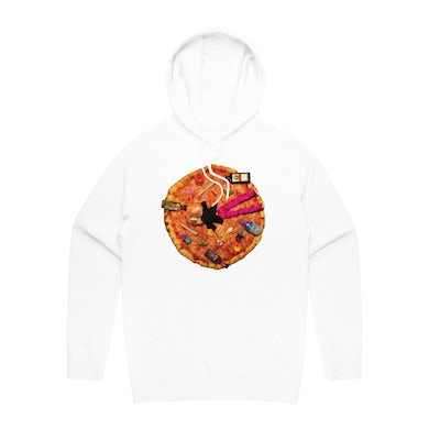 Eryn Martin WHO WOULDN'T WHITE HOODIE