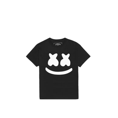 Marshmello Smile T-Shirt (Youth) — Black
