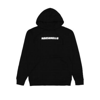 Marshmello Smile Hoodie — Black