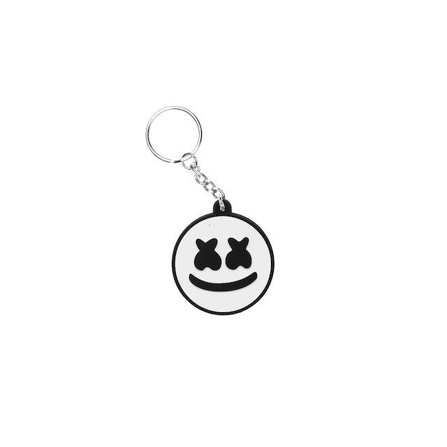 Marshmello Smile Keychain