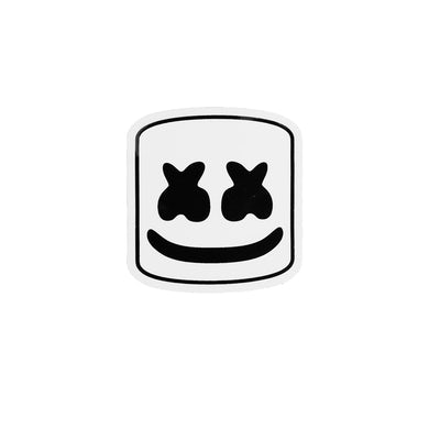 Marshmello Helmet Sticker