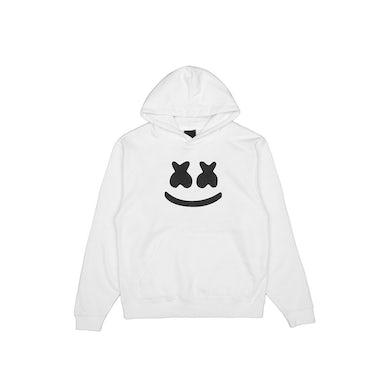 Marshmello Smile Hoodie (Youth) — White