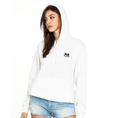 Marshmello Soft Smile Hoodie — White